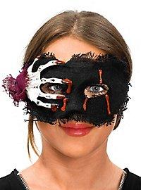 Skeletthand Augenmaske