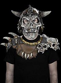Skelettkönig Maske aus Latex