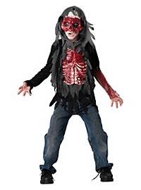 Skinned Zombie Kids Costume