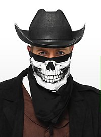 Skull Bandanna black & white