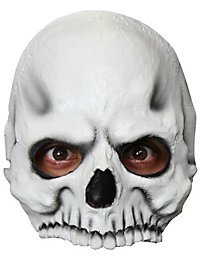 Skull half mask for children
