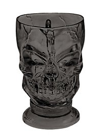 Skull Mug black Halloween Decoration