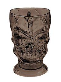 Skull Mug brown Halloween Deco