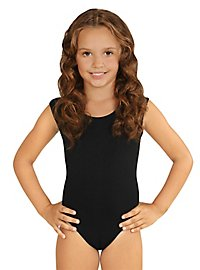 Sleeveless body for children black