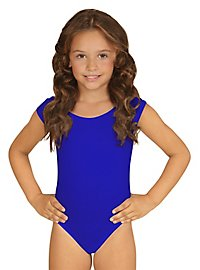 Sleeveless body for children blue