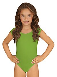 Sleeveless body for children green