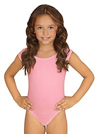Sleeveless body for children pink