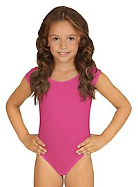 Sleeveless body for kids pink