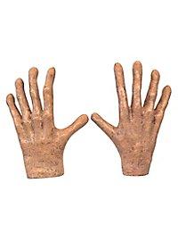 Slenderman Hände aus Latex