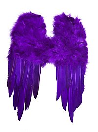 Small Feather Wings purple