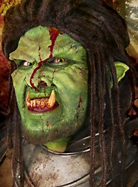 Small Orc Ears green Latex Prosthetic