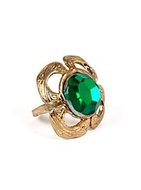 Smaragd Ring Kleeblatt