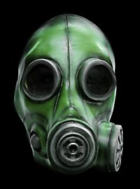 Smoke Mask green made of latex
