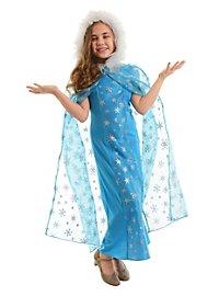 Snow Queen cape for children