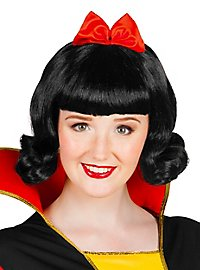 Snow White Wig with Ribbon