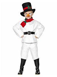 Snowman Kids Costume