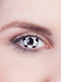 Soccer Ball Contact Lenses
