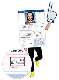 Social Media Smartphone Kostüm
