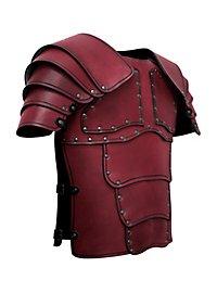 Söldner Lederrüstung rot