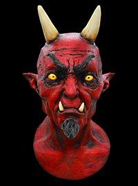 Sohn der Verdammnis Deluxe Teufelsmaske aus Latex