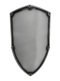 Soldier's Shield silver Foam Weapon