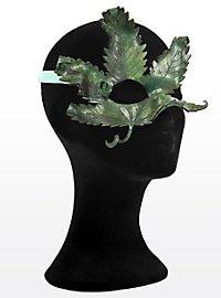 Sommernachts-Elfe Hanfblatt Halbseitige Augenmaske aus Leder