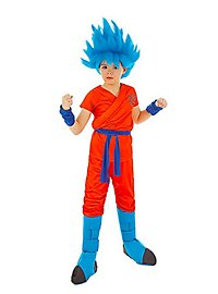 Son-Goku Super-Saiyajin God Child Costume