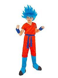 Son-Goku Super-Saiyajin Gott Kinderkostüm