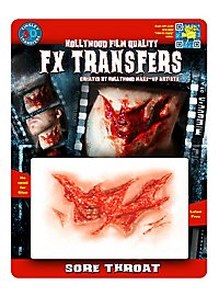 Sore Throat 3D FX Transfers