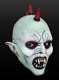 Space Devil Kids Mask Made of Latex