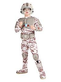 Space Warrior Kids Costume