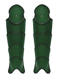 Beinschienen - Späher grün