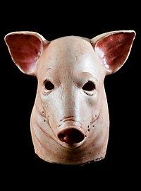 Spanferkel Schweinemaske aus Latex