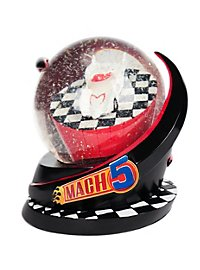 Speed Racer Mach Five Snow Globe