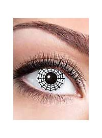 Spider contact lens with diopters
