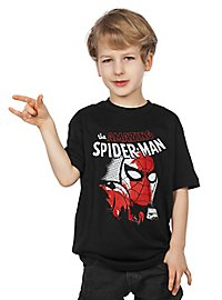 Spider-Man Kinder T-Shirt Porträt