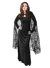 Spiderweb Cape black