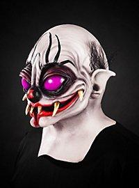Spinnenclown Maske aus Latex