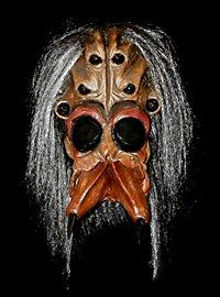 Spinnenmensch Maske aus Latex