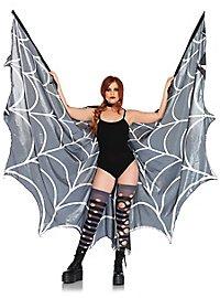 Spinnweben Flügelcape