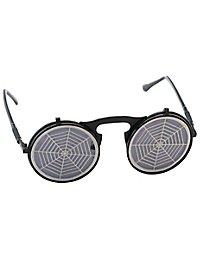 Spinnweben Sonnenbrille