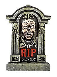 Spooky Skull Tombstone