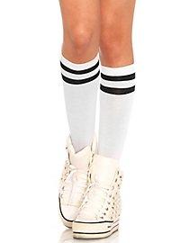 Sports Stockings white-black