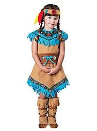 Squaw Indianerkostüm für Mädchen
