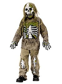 Squelette zombie Déguisement Enfant