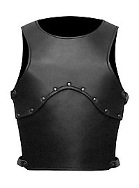 Squire Leather Kids Armor black
