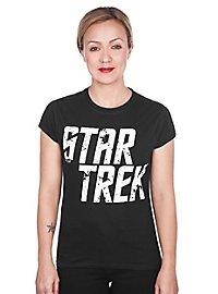 Star Trek - Girlie Shirt Distressed Logo