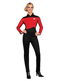 Star Trek Next Generation Jumpsuit red