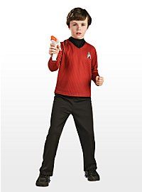 Star Trek Uniform rot für Kinder