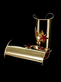 Star Vambraces gold